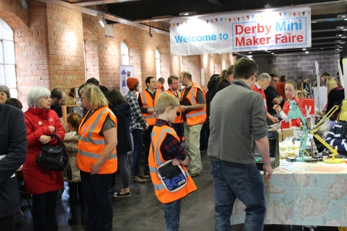CALL FOR MAKERS- Derby Mini Maker Faire 2014